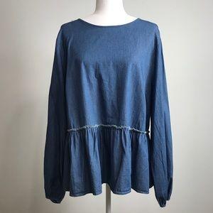 Universal Thread Women's Jean blouse.